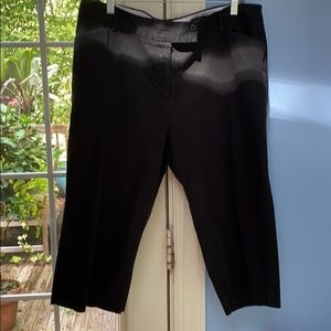 George black capris size 16 easy to wear $12